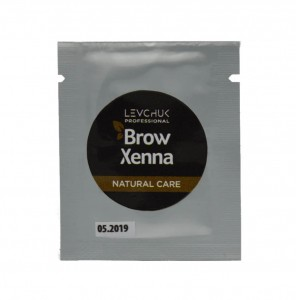 BrowXenna Natural Care saszetka Maska do brwi